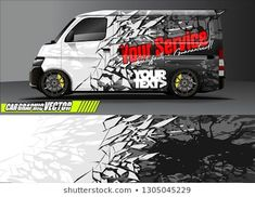 Find Van Livery Design Vector Abstract Race stock images in HD and millions of other royalty-free stock photos, illustrations and vectors in the Shutterstock collection. Thousands of new, high-quality pictures added every day. Suzuki Carry, Vw T5, Polaroid Foto, Jimny Suzuki, Car Iphone Wallpaper, Vehicle Signage, Transit Custom, Design Vector, Van Wrap