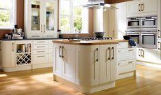 Tiverton Bone Kitchen | Wickes.co.uk
