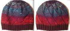 Ravelry: Twisted Up Reversible Striped Hat pattern by Nicole Nehrig Knitting Patterns Free, Knit Patterns, Free Knitting, Free Pattern, Knitting Ideas, Knitted Hats, Crochet Hats, Purl Stitch, Stockinette