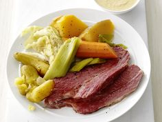 Slow-Cooker Corned Beef and Cabbage Recipe : Food Network Kitchens : Food Network - FoodNetwork.com