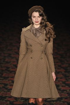 #Lena Hoschek #Mode aus Österreich #Show - Mercedes-Benz Fashion Week Autumn/Winter 2012