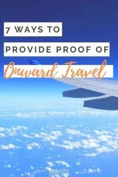 Looking for cheap or free ways to provide proof of onward travel? Whether you are a backpacker, vacationer, or digital nomad, we've got the tips and travel hacks for you! Check out these 7 ways you can provide proof of an onward flight. Solo Travel Tips, Travel Advice, Travel Hacks, Security Tips, Countries Around The World, Gap Year, Travelling Tips, Digital Nomad, Travel Information