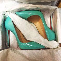 christian louboutin 'so kate 120' - beautiful colour. #shoeporn
