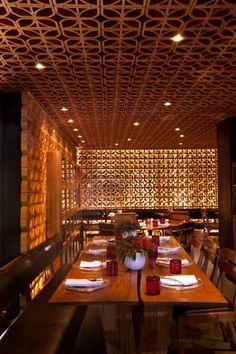 La Nona Anese Restaurant Interior Design Persian Chinese