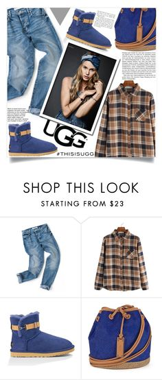 """""""Play With Prints In UGG: Contest Entry"""" by aida-banjic ❤ liked on Polyvore featuring UGG Australia, polyvorecontest and thisisugg"""