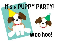 Hank and Hunt - HOME - PUPPY PARTY & FREE PRINTABLES