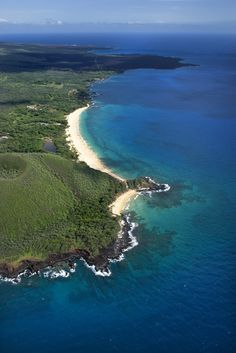 Big Beach and Little Beach, Maui, Hawaii.
