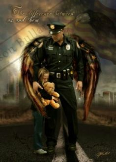 Without law enforcement we would not last another generation.