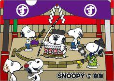 【画像 8/46】スヌーピーが江戸っ子に? 銀座三越でピーナッツの物販展開催 | Fashionsnap.com