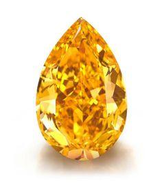 Subastado Diamante Naranja Vívido de 14.82 QUILATES por la Friolera de $35.5 MILLONES