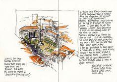 12_Mon25 09 Final FINAL Lisbon Sketch - Rossio Square