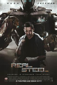 31 Amazing Real Steal Images Real Steel Hugh Jackman 2011 Movies