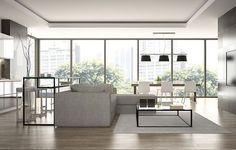 Muebles minimalistas Cancún. Decoración de Interiores #DecoracióndeInteriores