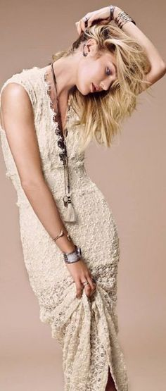 Candice Swanepoel for Free People Catalog July 2014