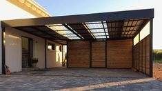 Small Room Interior, Interior Room Decoration, Room Interior Design, Carport Garage, Garage Exterior, Enclosed Carport, Car Porch Design, Canopy Outdoor, Outdoor Decor