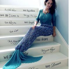 Adult Crochet Mermaid Tail  Video Tutorial By AnnooCrochet Designs