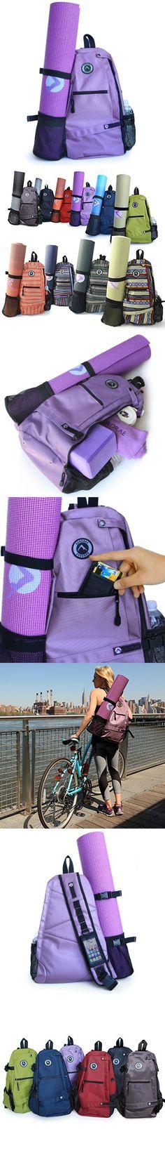 eae025bd146f Aurorae Yoga Mat Bag. Multi Purpose Cross-body Sling Back Pack. Mat sold