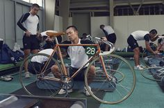 It's Nice That | Jasper Clarke photographs the cyclists in training at Japan's Keirin racing academy