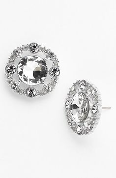 Free shipping and returns on kate spade new york 'grand debut' stud earrings at Nordstrom.com. Bursts of round, crystal-clear inlays encrust stud earrings that draw the eye by showing hints of skin.