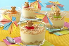 Day-at-the-Beach Pudding Cups - Kraft Recipes