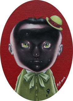 Paolo Pedroni Portrays a Whimsical and Dark World of Characters   Hi-Fructose Magazine