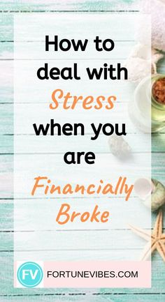 No money and feeling stressed? Learn how to deal with this stress and anxiety when you are broke. Financial Stress, Financial Tips, Financial Planning, Survey Websites, Money Problems, Dealing With Stress, Gratitude Quotes, Feeling Stressed