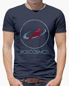 Camiseta ROSCOSMOS Russian Space Agency
