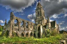 Photograph Vestiges de l'Eglise Saint-Etienne le Vieux Cean france by Koos Kreukniet on 500px