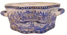 Oriental Porcelain Foot Bath