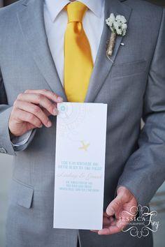 """Love is an Adventure"" program created by Matinae Design Studio for Jessica Frey's Wedding Workshop ww.matinaedesignstudio.com"