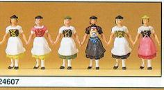 Preiser Model Figures and miniatures for your layout or dioramas.