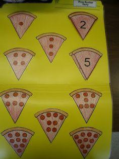 Pepperoni File Folder Game - Numbers - Free!   Mrs. Bremer's Kindergarten