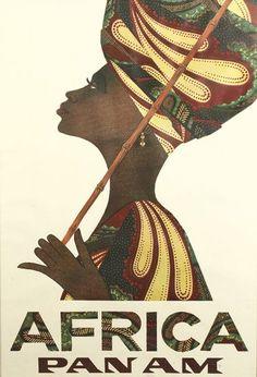 Pan Am - Africa - 1967 -