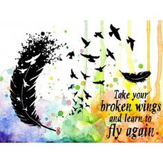 Learn To Fly Again Clear Stamps