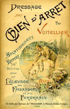 Voitellier. Dressage du chien d'arrêt. 1894