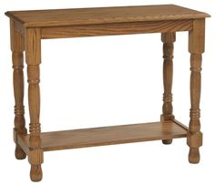 Amish Traditional Occasional Sofa Table