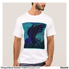 Winged Black Panther T-Shirt