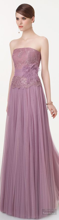 Aire Barcelona ~ Evening Gown, Lavender, 2015.