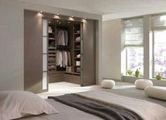 Master bedroom closet door example  not the color