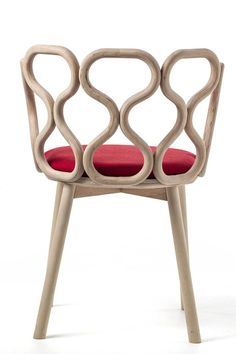 Wooden #chair GERLA by Very Wood   #design LucidiPevere #wood
