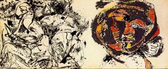 Expresionismo abstracto / Pollock  /  Portrait and a Dream.