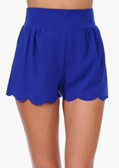 Scallop Shorts | Shop for Scallop Shorts Online