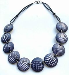 Wow! So beautiful! Art Jewelry by Mabcrea