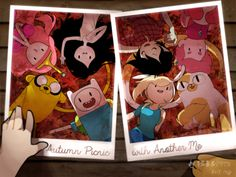 adventure time fall commemorativephotograph by greenflake2253 on DeviantArt