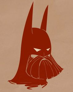 What If: Famous Superheroes Had Beards? by Vanja Mrgan
