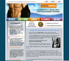 """Penis Video – How Effective is This Penis Enlargement Program? Well, it does claim to increase penis size by up to 3"""" full inches. See review here ! #PEnisVideo #Male #Enlargement #Enhacement #Program  http://becomingalphamale.com/penis-video-how-effective-is-this-penis-enlargement-program-learn-from-review-below"""