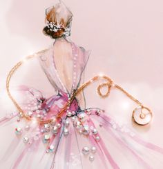 #AmulettedeCartier #Cartier Katie from Paper Fashion blog http://paperfashion.net/2014/06/11/unlocking-wishes/