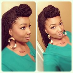 Gorgeous women with sengalese twists on #naturalhair