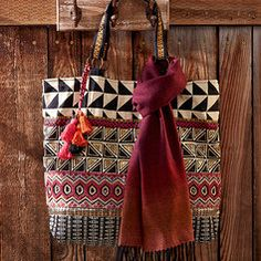 Where We Roam - Tribal tote bag