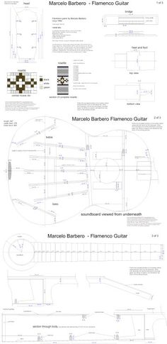 Marcelo Barbero - Flamenco — Guitar Plans